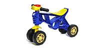 Беговел мотоцикл Орион 188 синий