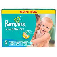 Подгузники PAMPERS Active Baby Junior (11-18 кг) ДжайнтПлюс 82шт