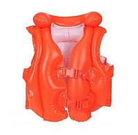 Надувной жилет для плавания Intex