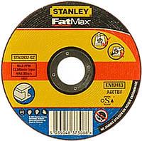 Абразивный отрезной круг по металлу STANLEY STA32637 (125*1*22.2)