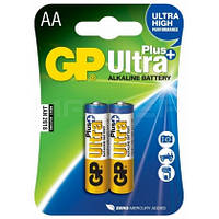 Батарейка GP Ultra Plus Alkaline 1.5V LR6 15AUP-2UE4, AA щелочная
