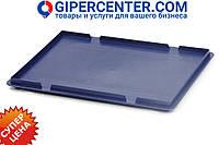 Крышка для пластиковых ящиков системы KLT 50.513.61 (600x400 мм) темно синяя