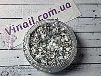"""Декор для ногтей в баночке """"Пайетки"""" №1372"""