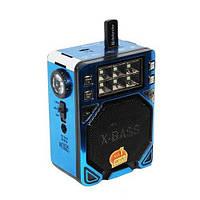 Радио с фонарем Golon RX-8100 T, USB/SD слот, работа от сети 220 V/батареек, 140х100х70 мм, антенна