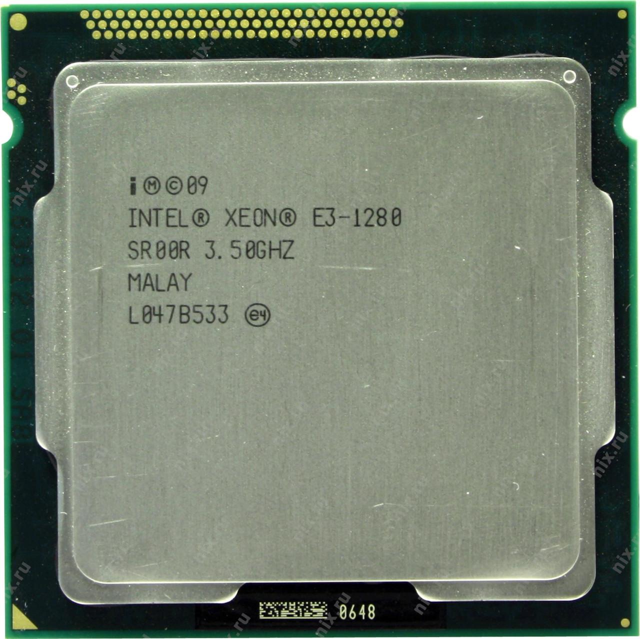 Процесор Intel XEON E3-1280 4x3,5 Ghz