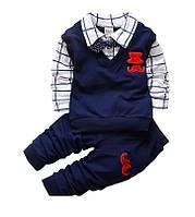 Костюм нарядный для мальчика рубашка бабочка штаны