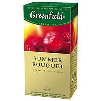"""Чай в пактиках черный Greenfield """"Summer Bouquet"""" 25шт Малина"""