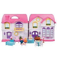 Кукольный домик с подсветкой. Redbox