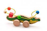 Лабиринт-каталка Крокодил, Мир деревянных игрушек