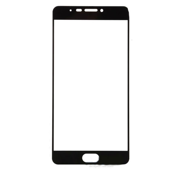 Full Cover защитное стекло для Meizu M3 Max - Black