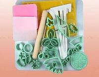 Набор форм и инструментов для мастики