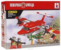 Конструктор Пожарная бригада Самолет 405дет. (Ausini)