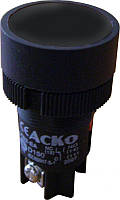 """XB2-EA125 Кнопка """"Старт"""" черная (NO+NC)"""