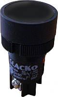 """XB2-EH121 Кнопка """"Старт"""" черная с фиксацией (NO)"""