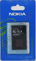 АКБ оригинал Nokia BL- 5CA Nokia 1100/  1101/  1110/  1112/  1600/  2300/  2310/  2600/  2610/  3100/  6230/  N70/  N72/