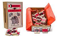 Шоколад мопс Я люблю тебя оригинальный прикольный необычный подарок любимому любимой новый год