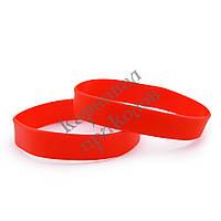 Браслет силиконовый (красный)