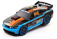Машина Ford Mustang 5.0 Крутой разворот со светом и звуком 33 см., черный, Toy State