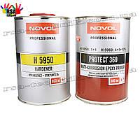 Антикоррозионный эпоксидный грунт NOVOL Protect 360 + отвердитель H5950 800мл