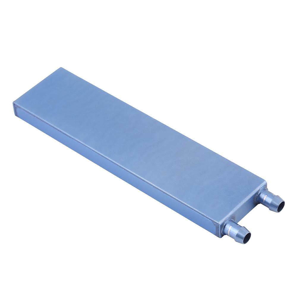 Водоблок алюминиевый 122*41*12мм (боковые штуцера)