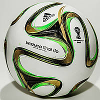 Мяч футбольный Adidas Brazuca Final Rio Official Match Balln 2014