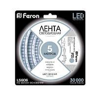 Светодиодная лента Feron SANAN LS606 SMD5050 60 шт/м 14.4Вт/м 12V IP20