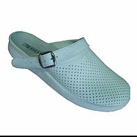 Сабо белые женские мужские медицинские рабочая обувь оптом