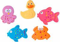 Мини-коврики для купания Цветной океан - набор из 5 шт., Canpol babies