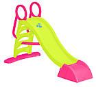 Дитяча ігрова гірка спуск 187 см Mochtoys XL пластикова для дітей, фото 2
