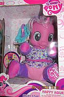 Малышка Пони с тарелочкой 20 см