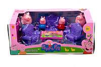 """Игровой набор мебель для героев """"Свинка Пеппа"""" в коробке 27*14,3*11см"""