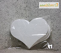 Набор сердец большие 32см, набор 3шт. без покраски