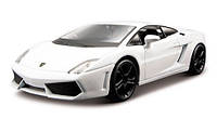 Модель - Lamborghini Gallardo LP560-4 2008 (белый) 1:32, Bburago