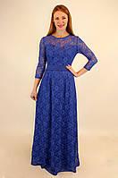Длинное нарядное платье 44-50 р