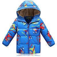 Куртка демисезонная для мальчика принт некст 117 — 122 см