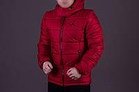Куртка демисезонная, мужская, весенняя, осенняя, до - 2 градусов красный