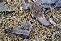 Удобные модные ботинки