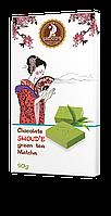 """Шоколад """"SHOUD'E"""" зеленый чай Matcha"""
