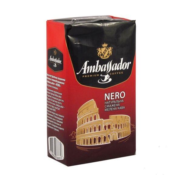 Кофе Ambassador Nero 225 г молотый