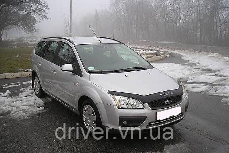 Дефлектор капота (мухобойка) Ford Focus 2004-2008