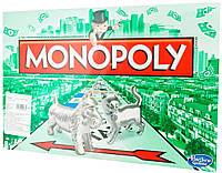 Монополия, классическая версия на украинском языке, Monopoly, Hasbro