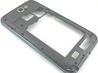 Корпус Samsung N7100 Galaxy Note 2 средняя часть Blue,Titan Gray, Б/У