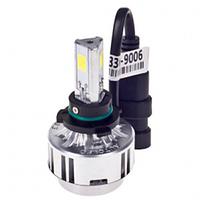 Лампа автомобильная PULSO/LED/HB4 9006 P22D/3*360°COB/12v36w/3300Lm/6000K