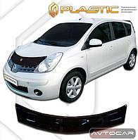 Дефлектор капота Nissan Note с 2006-2013