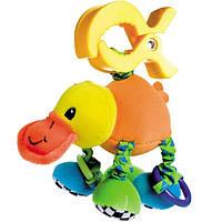 Мягкая вибрирующая игрушка-подвеска Утконос, Canpol babies