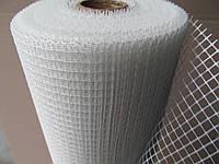 Стеклосетка армирующая для внутренних работ 70г\м.кв. Ячейка: 5х5мм. Ширина рулона: 1м. Длина: 50м.