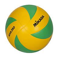 Мяч волейбольный Mikasa MVA390CEV р. 5, фото 1