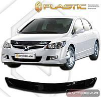 Дефлектор капота Honda Civic седан с 2005-