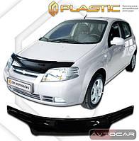 Дефлектор капота Chevrolet Aveo хэтчбэк с 2006-