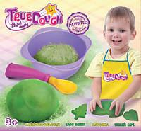 Набор для лепки с одним цветом, лаймово-зелёный, TrueDough